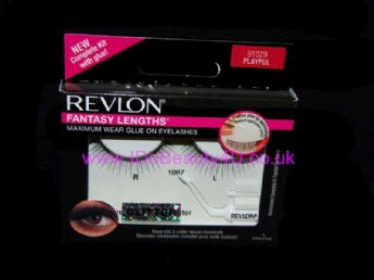 REVLON FANTASY FALSE EYELASHES EYELASH GLITTER PARTY